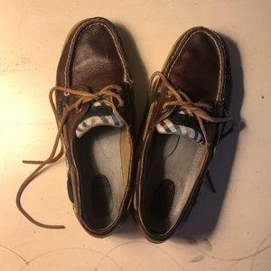 Sperry Top Sider Leather Boat Shoes sz 7M